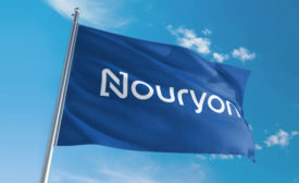 Nouryon blue flag