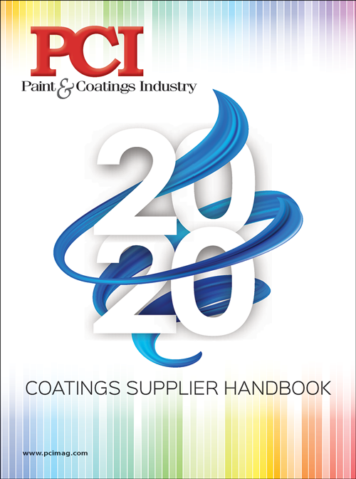 PCI Coatinfs Supplier Handbook